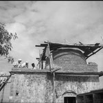 August, 1938 - Tomb construction