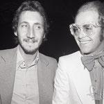 Pete with Elton John