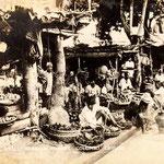 1938-vegatable stall-Borella market