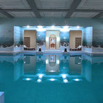 Basement swimming pool