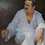 Meher Baba at Meher Spiritual Center July 28, 1956