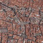 Puerta del Sol - aerial view