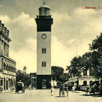 1910s-Lighthouse clock-tower-Colombo