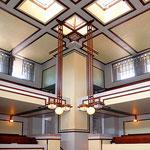 Buffalo Unity Society building - interior
