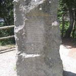 Monument about 1st flight by man by Leonardo de Vinci
