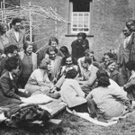 Meher Baba at East Challacombe, Devonshire, UK  - April 1932
