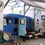 2004 - Blue Bus ; photo taken by Sher DiMaggio