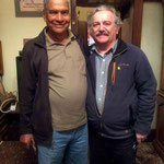 Shridhar with Tony Zois