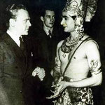 Uday with James Cagney