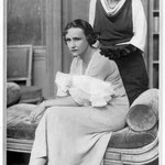 Fay Compton as Norma ( seated ) and Zena Dare as Lady Raynor