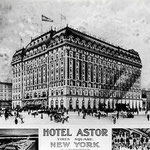 Astor Hotel, New York