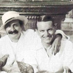1932 : Herbert with Meher Baba in Venice