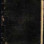 1931 Diary - cover