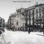 1933 ; Plaza de Tirso de Molina