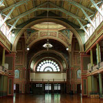 Inside the Royal Exhibition Building