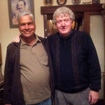 Shridhar with Ian Cox