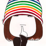 Girl in The Rainbow