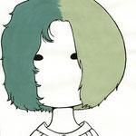 2 Hairs Girl