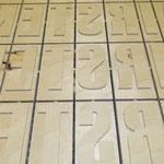 CNC Fräsarbeiten Holz Buchstaben