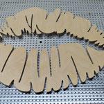 CNC Fräsarbeiten Holz Lippen
