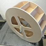CNC Fräsarbeiten Holz Wasserrad