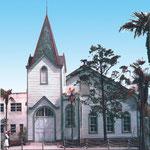 1917年(大正6)1月26日、本部教会として献堂。1919年に天沼教会と改名する。