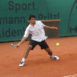 Viertelfinalist Rameez Junaid (TC Bad Homburg, HTV)