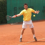 Viertelfinalist Zeljko Krajan (TC Ismaning, BTV)
