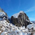 Dieser spektakuläre Felsen ist das Kleine Matterhorn
