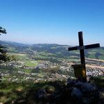 Gipfelkreuz der Bräumauer