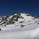 Letzter Gipfelanstieg - und gleichzeitig eine sehr tolle Abfahrt
