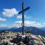 Gipfelkreuz des Stubwieswipfels