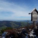 Kleines Marterl am Gipfel