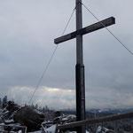Gipfelkreuz des Hochsteins