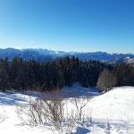 Panorama ins Gebirge