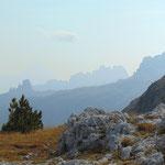 Ausblick auf die Cinque Torri
