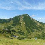 Auch der Arche Gipfel zeigt sich noch einmal von seiner schönsten Seite