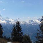 Dachstein Massiv und die Ausläufer des Gosaukamms
