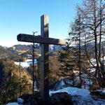 Gipfelkreuz des Kleinen Warschenecks