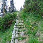 Wegverlauf des Grazer Steiges