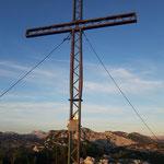 Gipfelkreuz des Redenden Steines