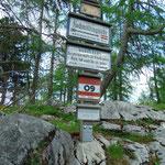 Jetzt ist die Hochmölbinghütte nicht mehr weit - uns zieht es aber vorher noch auf den Wörschacher Reidling