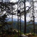 """""""Zweites"""" Gipfelkreuz des Ebenwieselsteins"""