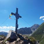 Auch auf deren Gipfel wartet nochmal ein toller Blick auf das Warscheneck