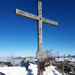 Gipfelkreuz des Labenberges