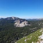 Ausblick auf das gegenüber liegende Eiserne Bergl