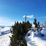 Blick über das Gipfelareal
