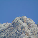 Der Dachstein Gipfel im starken Zoom