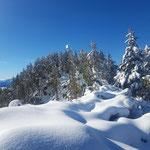 Unter diesen Schneeverhältnissen ist Vorsicht am Grat geboten!