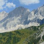 Lage der Dachstein Südwandhütte